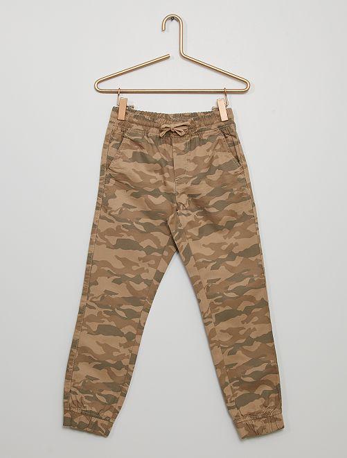 Pantalón de 'camuflaje'                                                     BEIGE