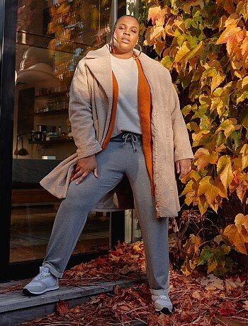5456 Pantalones Tallas MujerTalla Grandes Kiabi lJKF1c