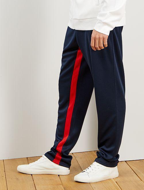Pantalón de deporte de estilo vintage                             AZUL