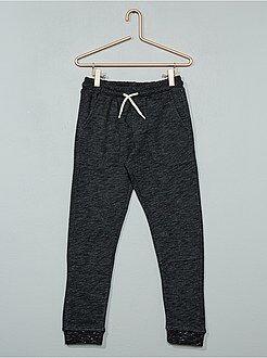 Pantalones - Pantalón de deporte de felpa - Kiabi