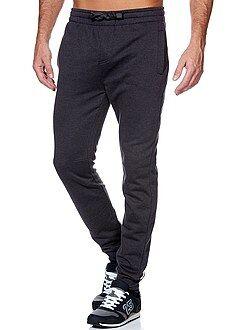 Pantalones de deporte, joggings - Pantalón de deporte de felpa