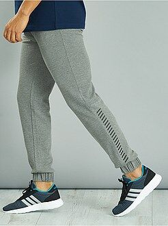 Hombre - Pantalón de deporte de felpa ligera texturizada - Kiabi