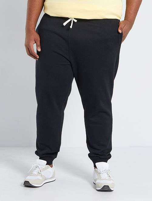 Pantalón de deporte de felpa                             negro