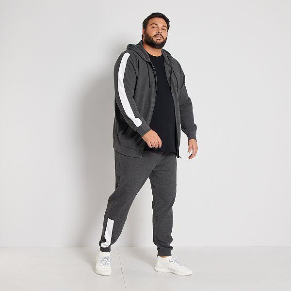 Pantalon De Deporte De Pique Tallas Grandes Hombre Gris Kiabi 20 00