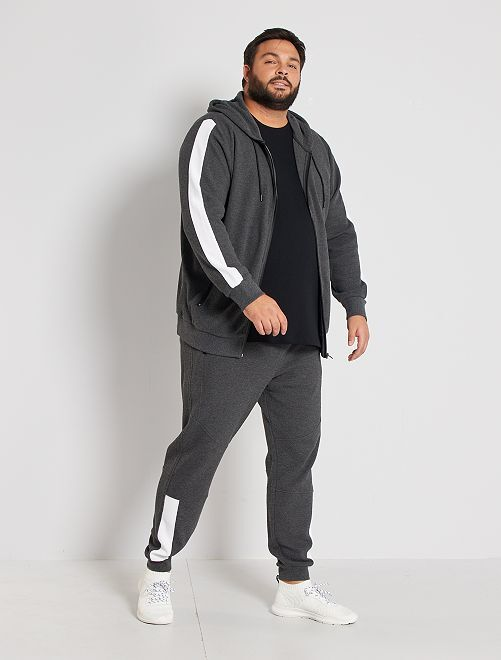 Pantalón de deporte de piqué                     GRIS