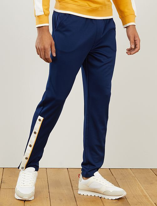 Pantalón de deporte estilo vintage                                         azul oscuro