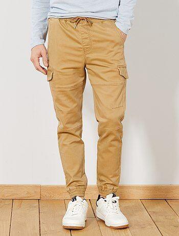 Pantalón de estilo deportivo de punto suave - Kiabi 5435db974f48