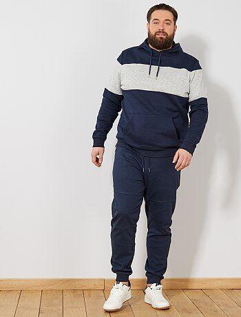 Pantalón de felpa con detalles en las rodillas - Kiabi 3ea361ef1e58