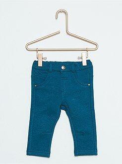 Pantalones, vaqueros, calzoncillos - Pantalón de felpa elástico
