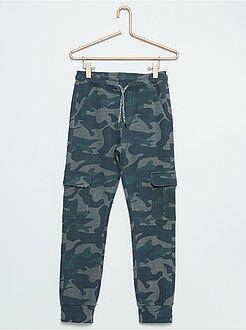 Pantalones - Pantalón de felpa