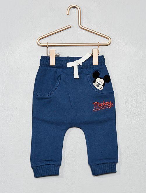 Pantalón de felpa 'Mickey'                             AZUL