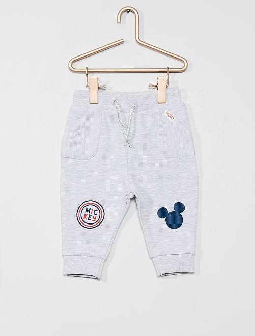 Pantalón de felpa 'Mickey'                                         GRIS