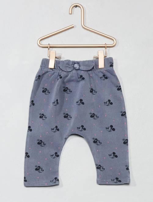 Pantalón de felpa 'Minnie'                             BLANCO Bebé niña