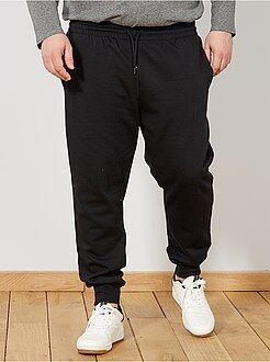 Tallas grandes hombre Pantalón de felpa