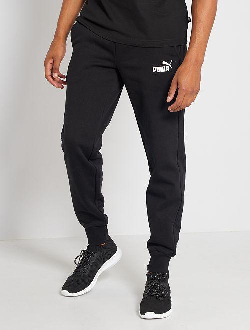 Pantalón de felpa 'Puma'                             NEGRO