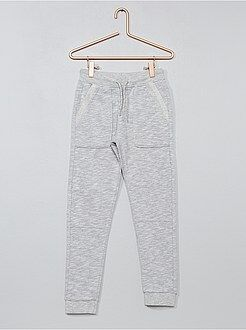 Pantalones - Pantalón de jogging bicolor - Kiabi