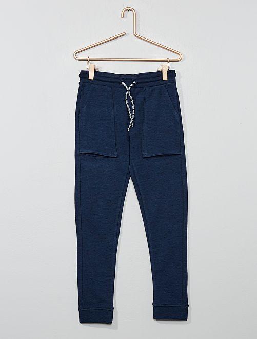 Pantalón de jogging con bolsillos grandes                                                                 azul marino