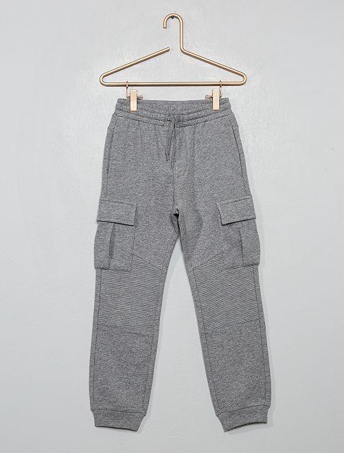 Pantalón de jogging con bolsillos                                                     GRIS