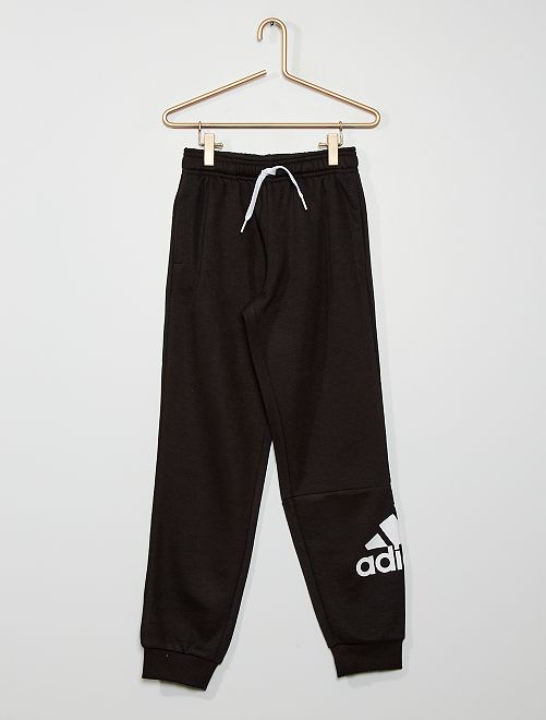 Pantalón de jogging de felpa 'Adidas'                             NEGRO