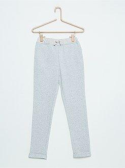 Pantalón de jogging de felpa brillante