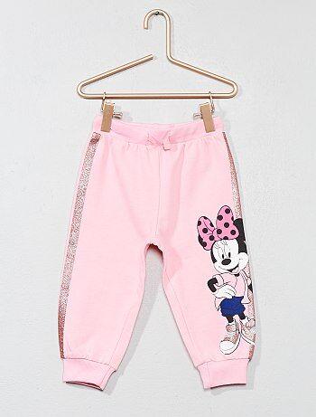 Niña 0-36 meses - Pantalón de jogging de 'Minnie' con brillos - Kiabi