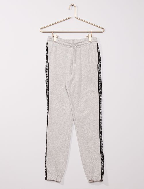 Pantalón de jogging deportivo eco-concepción                                         gris