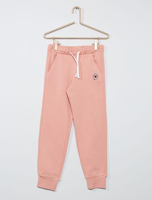 Pantalón de jogging eco-concepción                                         ROSA