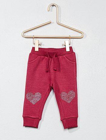 Pantalón de jogging estampado en la rodilla - Kiabi