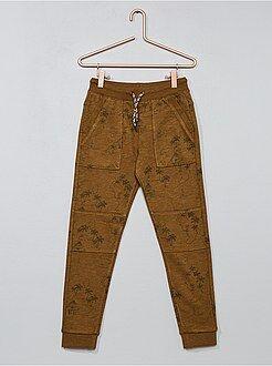Pantalones - Pantalón de jogging estampado - Kiabi