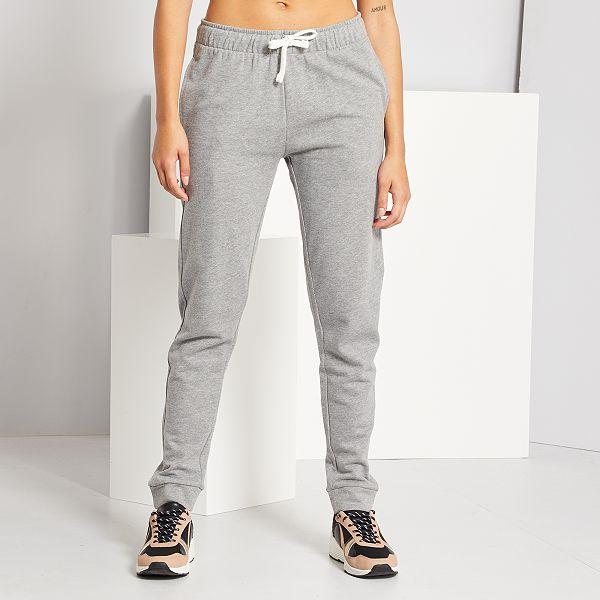 Pantalon De Jogging Mujer Talla 34 A 48 Gris Kiabi 8 00