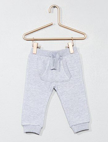 Niña 0-36 meses - Pantalón de jogging liso - Kiabi