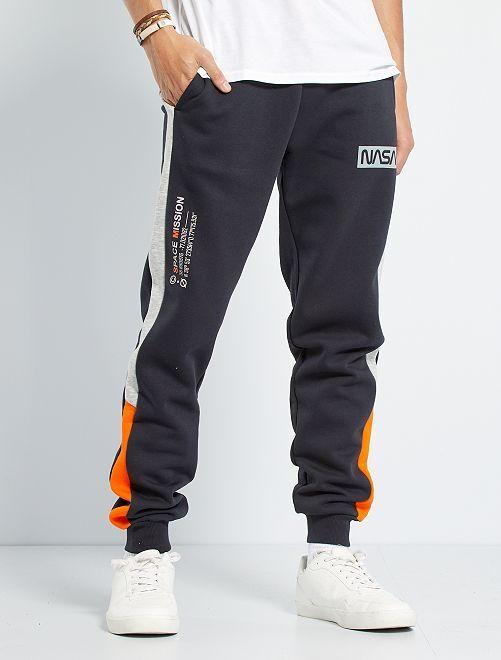 Pantalón de jogging 'NASA'                             NEGRO