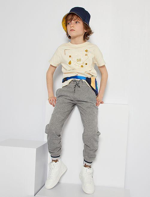 Pantalón de jogging niño talla -                                         GRIS