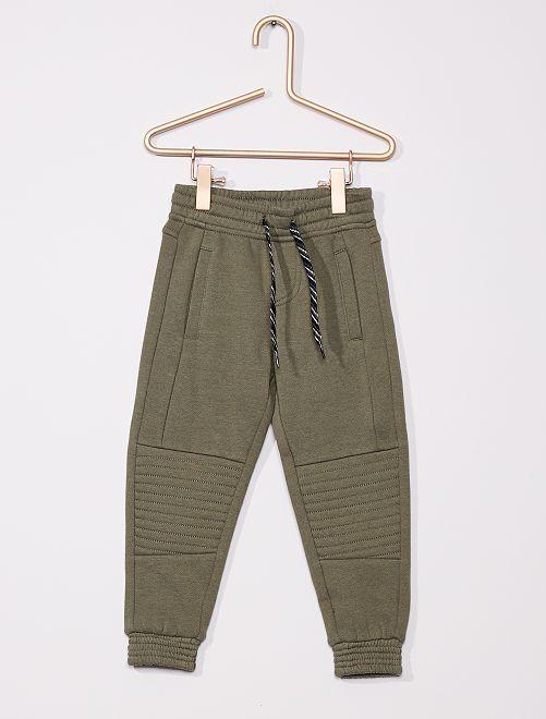 Pantalón de jogging niños delgados                             verde oscuro