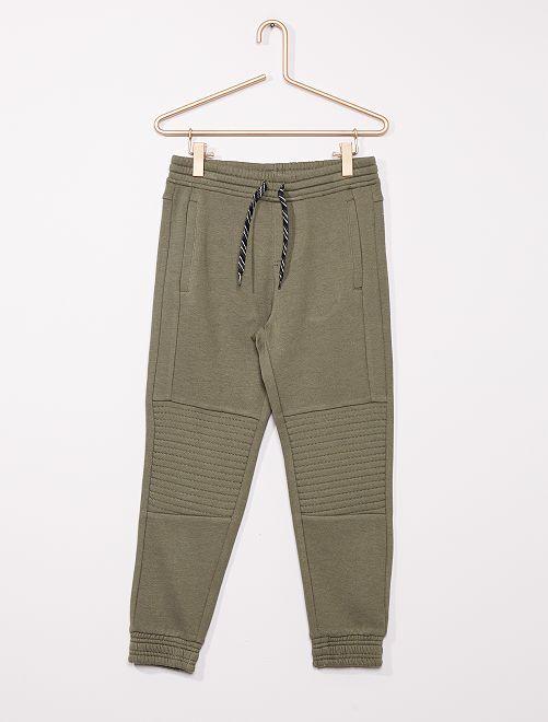 Pantalón de jogging niños talla +                             verde oscuro