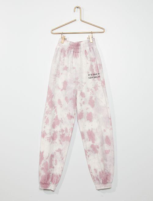 Pantalón de jogging                             PURPURA