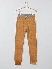 Pantalón de jogging sarouel bicolor