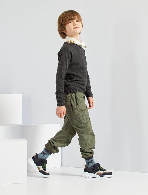 Pantalón de jogging                                                     verde oscuro