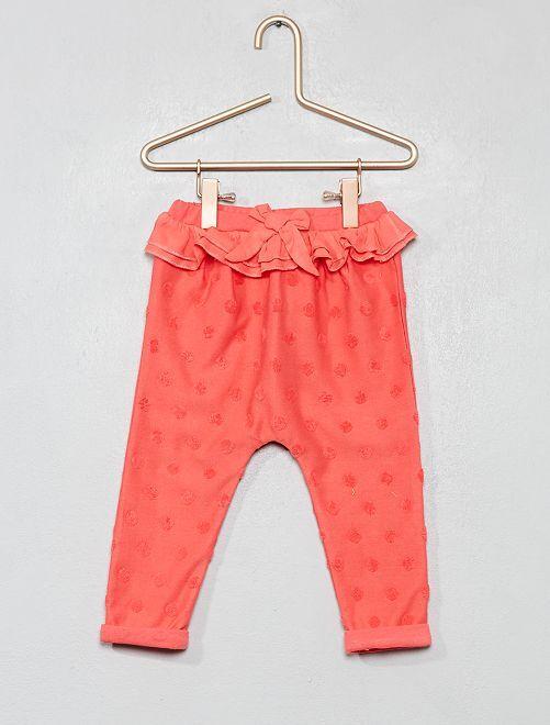 Pantalón de lunares                                         ROSA Bebé niña