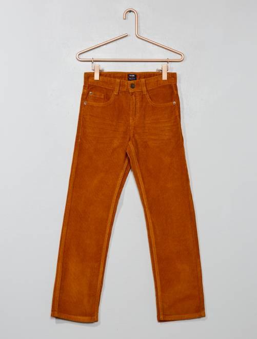 7a0b2035267 Pantalón de pana Chico - AMARILLO - Kiabi - 6