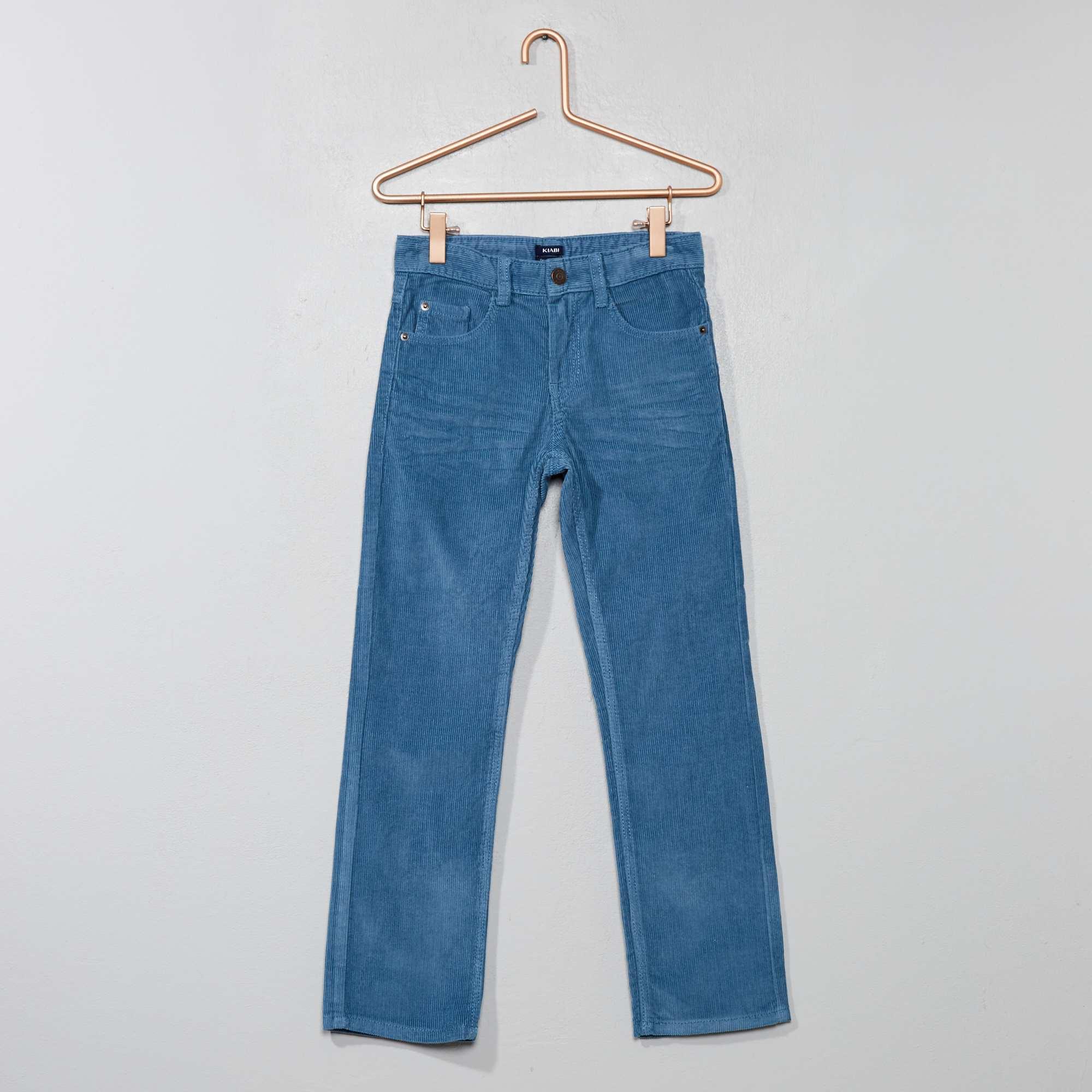 21f458e4222 Pantalón de pana Chico - AZUL - Kiabi - 6