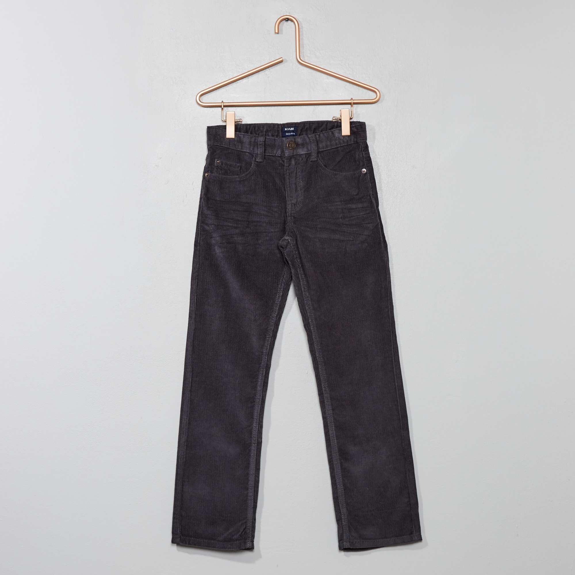 c15ac93a093 Pantalón de pana Chico - GRIS - Kiabi - 6