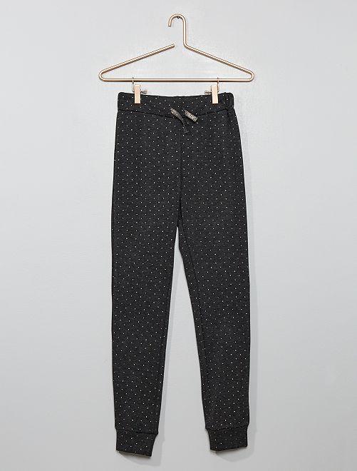 Pantalón de pijama con brillos                             GRIS
