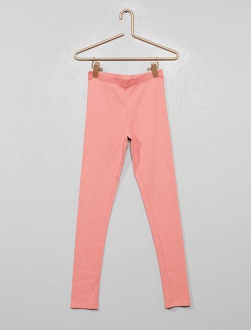 Pantalón de pijama de canalé                                         rosa