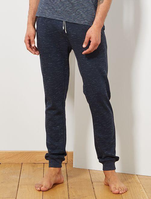 Pantalón de pijama de felpa                                                     AZUL