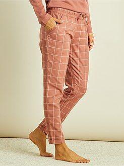 Pijamas, babydoll - Pantalón de pijama de franela
