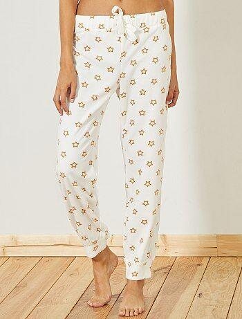Pantalón de pijama de tejido polar - Kiabi