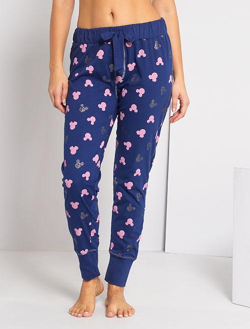 Pantalón de pijama 'Disney'                             azul marino