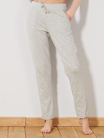 Pantalón de pijama liso - Kiabi