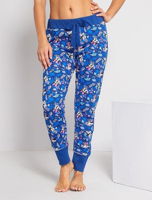 Pantalón de pijama 'Minnie'                                         azul marino